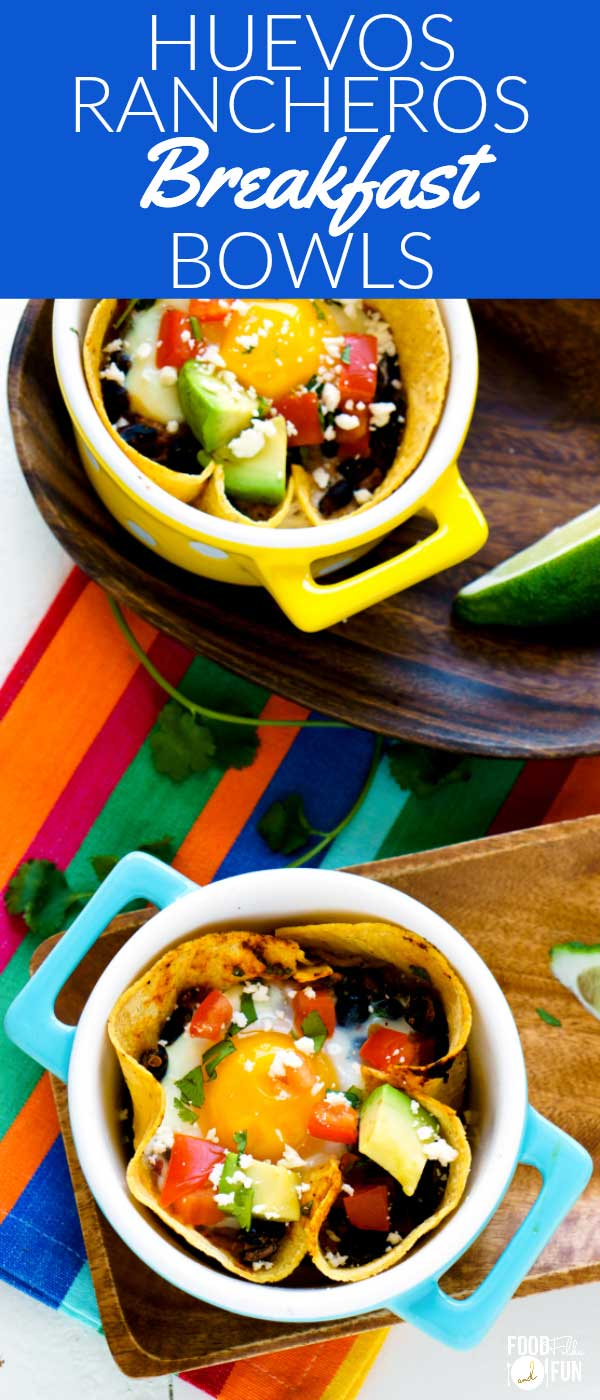 These Healthy Huevos Rancheros Breakfast Bowls are not only easy to make, but so satisfying and surprisingly good for you!