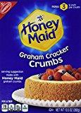 A box of graham cracker crumbs