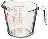 One glass liquid measuring cup