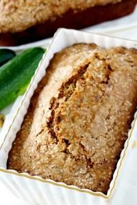 How to make zucchini bread more moist?