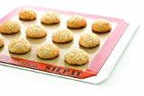 Gluten-Free Monster Cookies on a no-slip baking mat