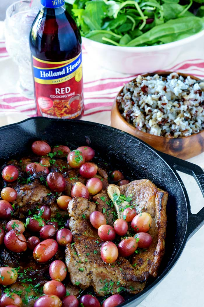 Cast Iron Skillet Pork Chops
