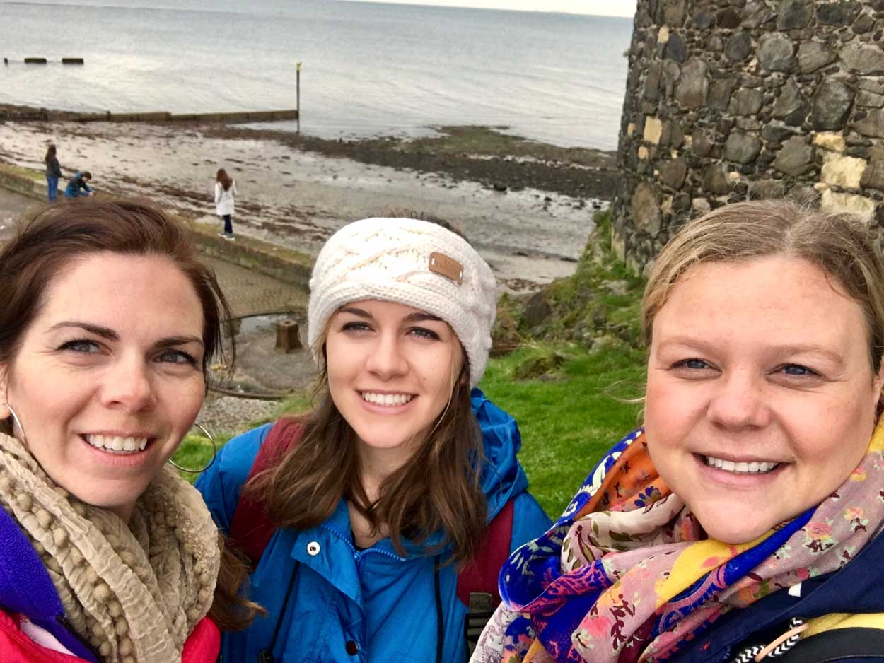 Having fun on our Ireland Genealogy trip!