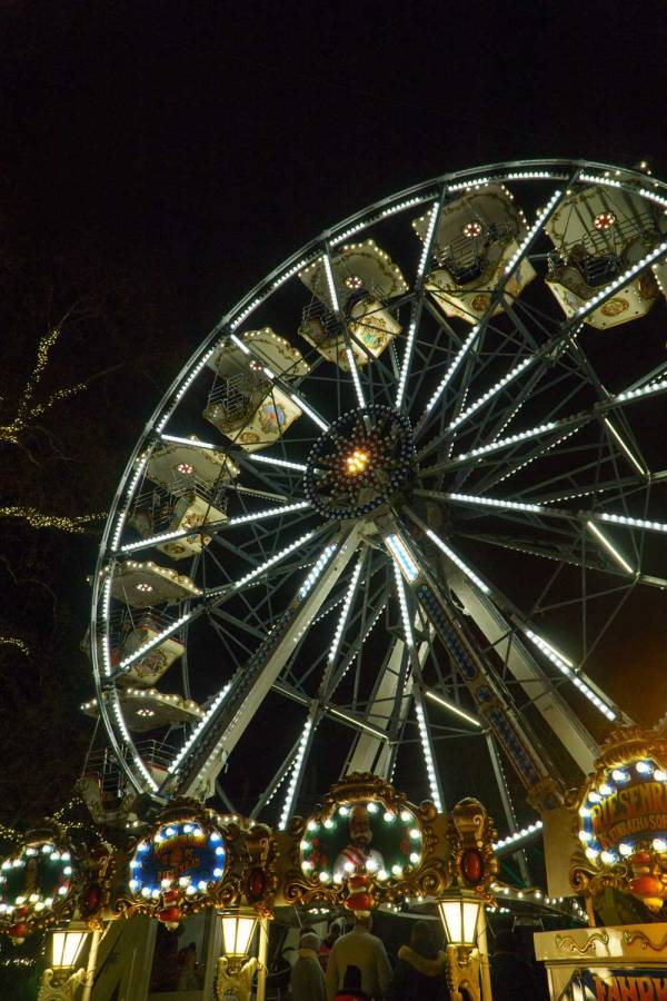 Go on the kids rides at European Christmas Markets
