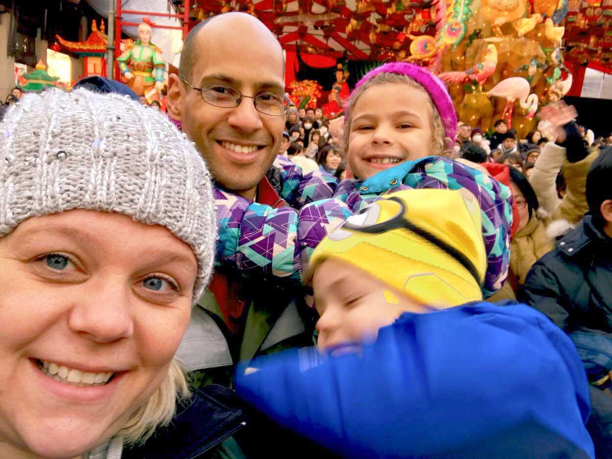 Family fun at Nagasaki Lantern Festival