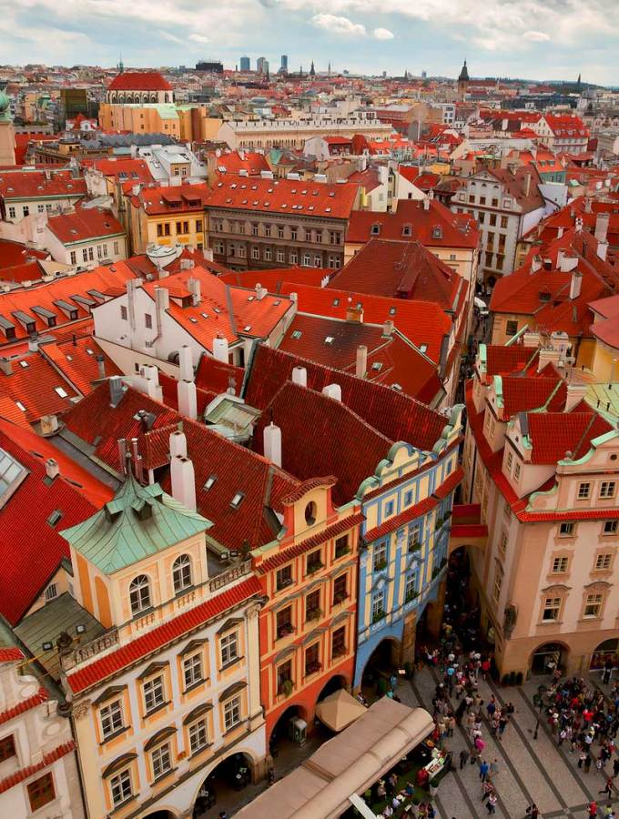 Old Town Prague part of Prague 1