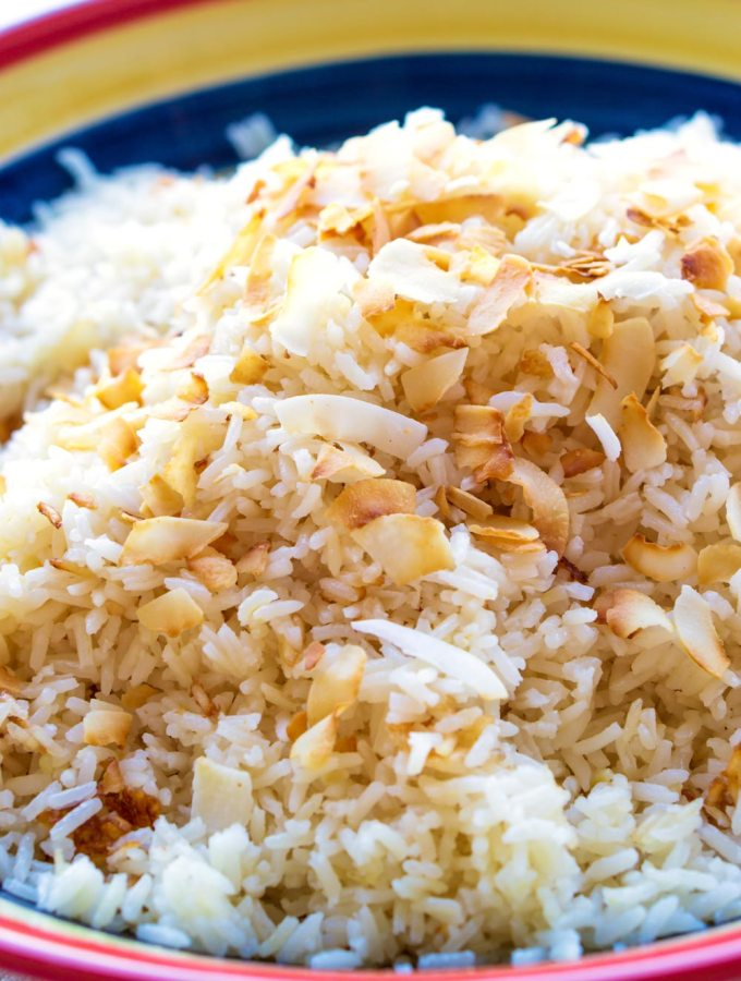 The best Coconut Rice recipe!