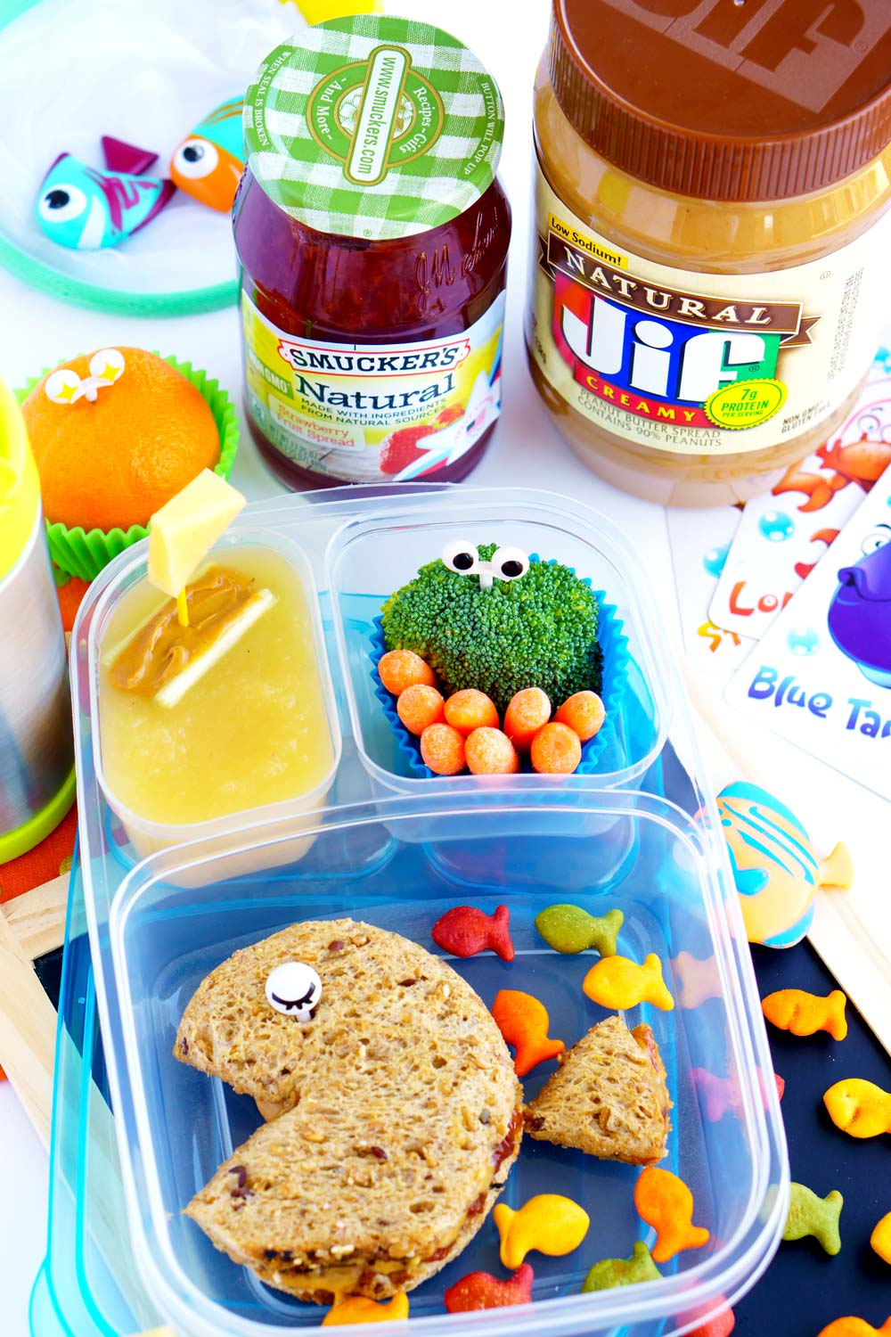 Back to School PB&J with JIF and Smuckers!