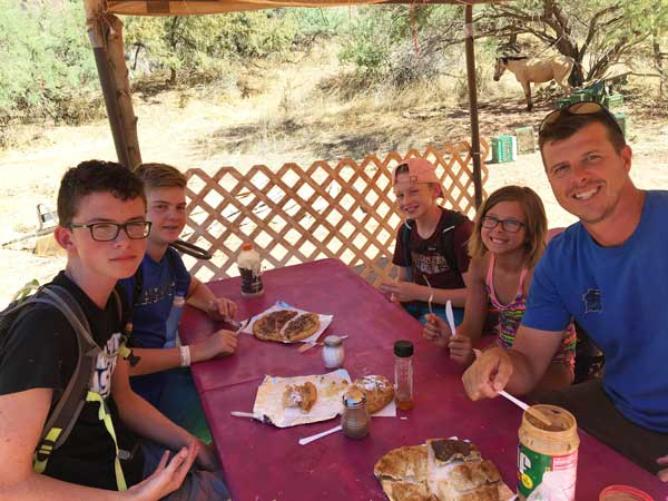 Don't pass on the fry bread at Havasupai Falls!
