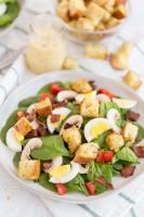 Copycat Costco Spinach Salad