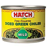 A can of diced green chiles