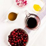 Cranberry Vinaigrette Ingredients