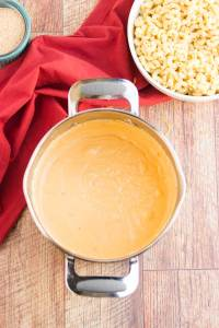 Cheese sauce for mac and cheese