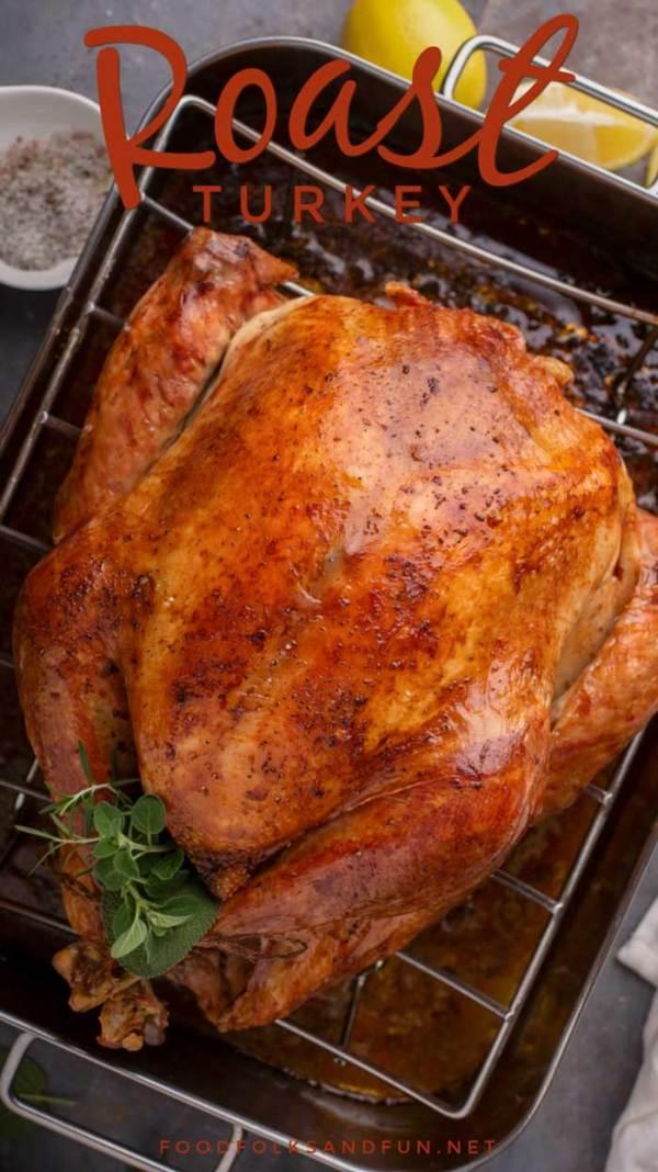 The best roast turkey and turkey brine