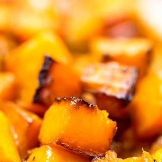 Roasted Butternut Squash Cubes recipe