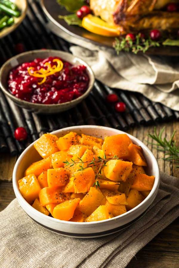 Roasted Butternut Squash for Thanksgiving