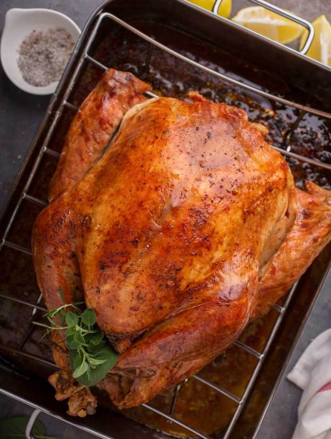 Easy Roast Turkey Recipe