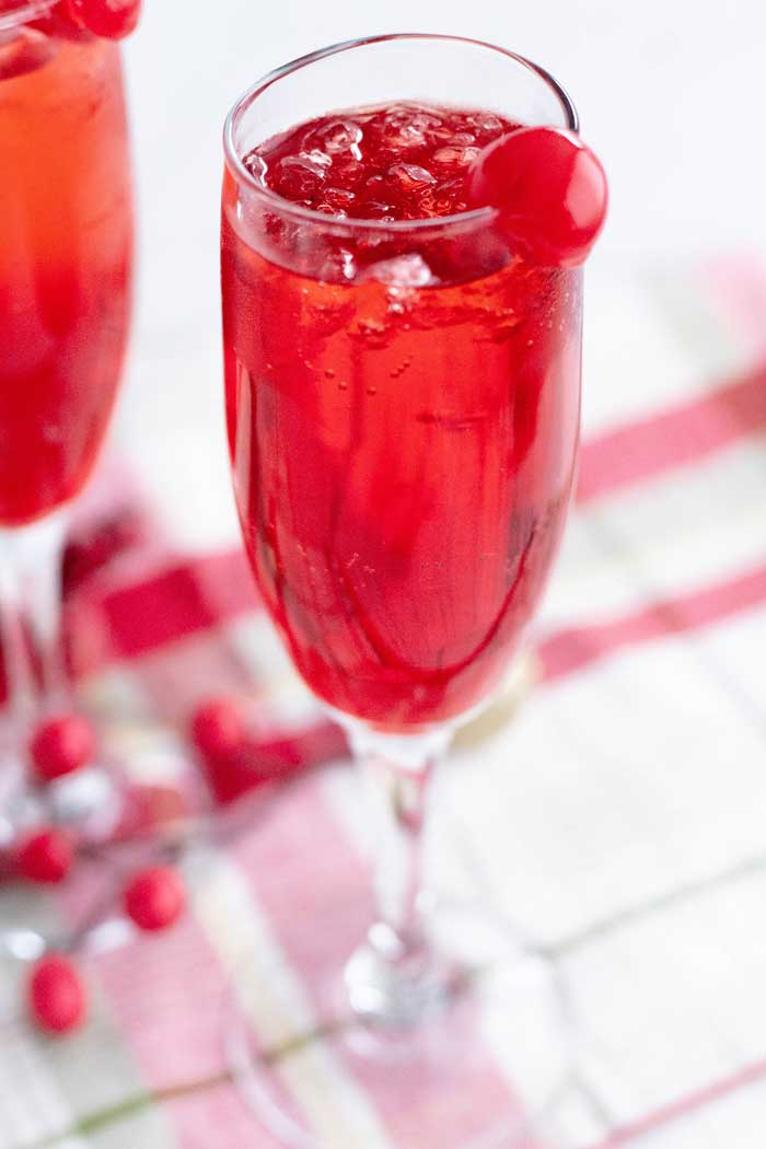 Shirley Temple Drink Cocktail