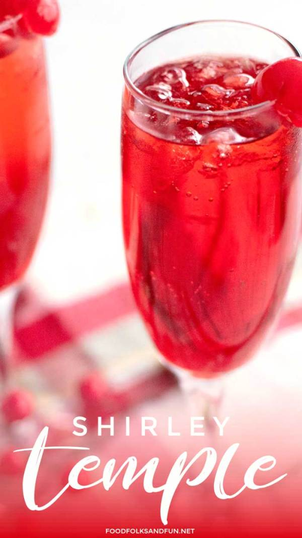 Simple Shirley Temple Drink