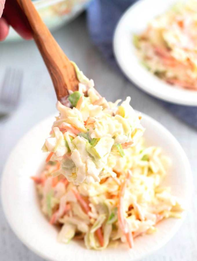 The Best Coleslaw recipe EVER!