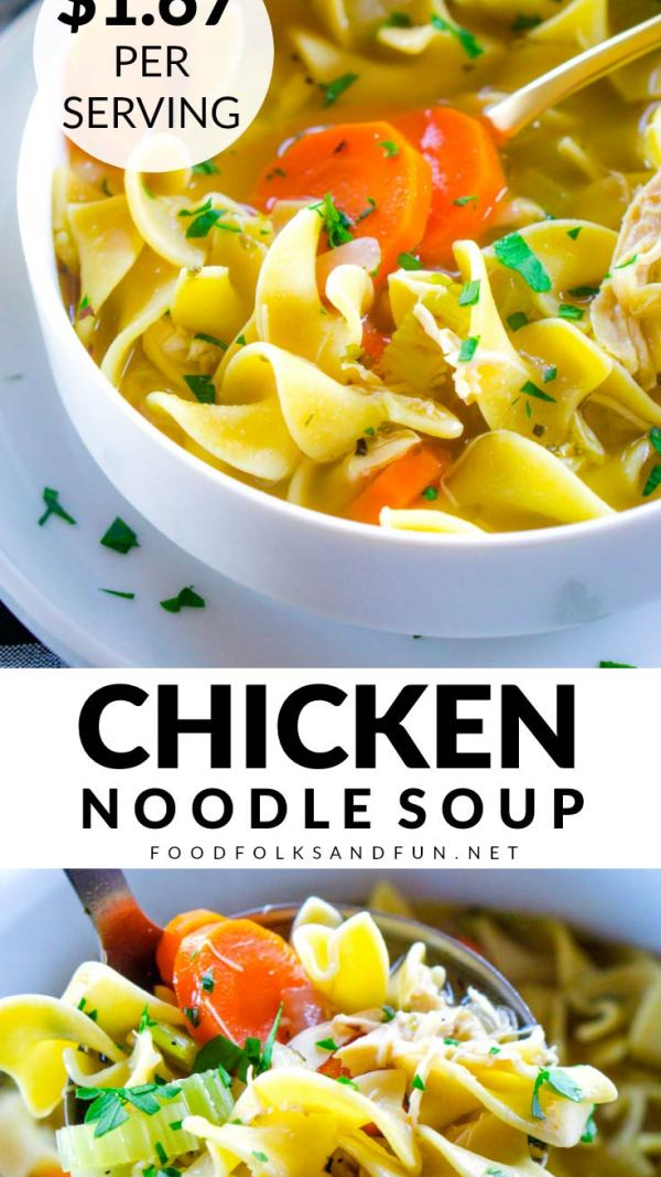 Chicken Noodle Soup with Rotisserie Chicken Recipe