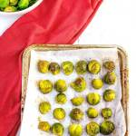 Roasted Brussels Sprouts Step 3