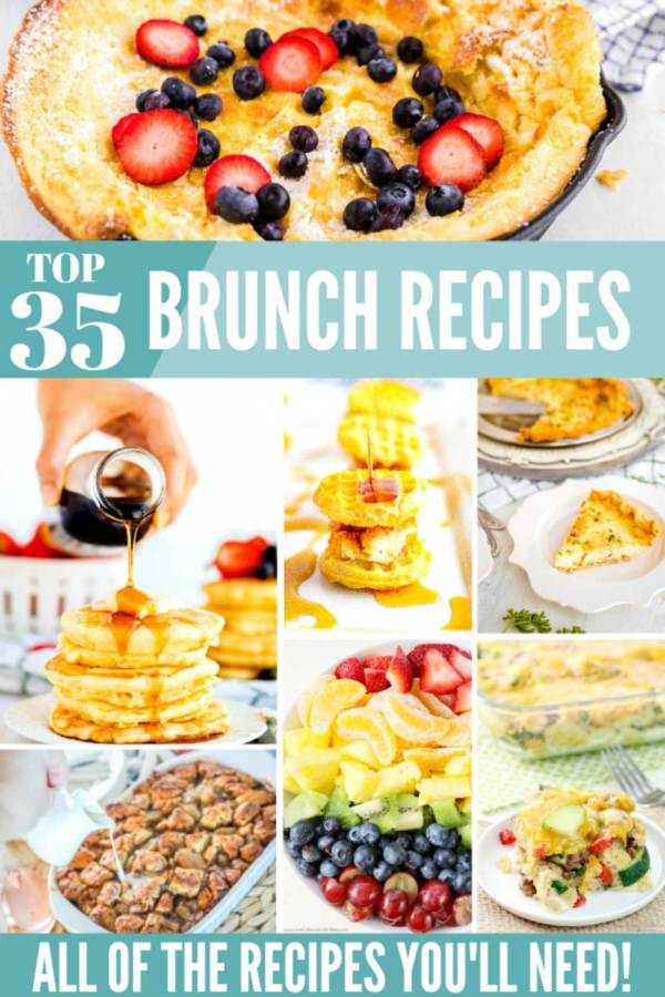 35 Brunch Ideas