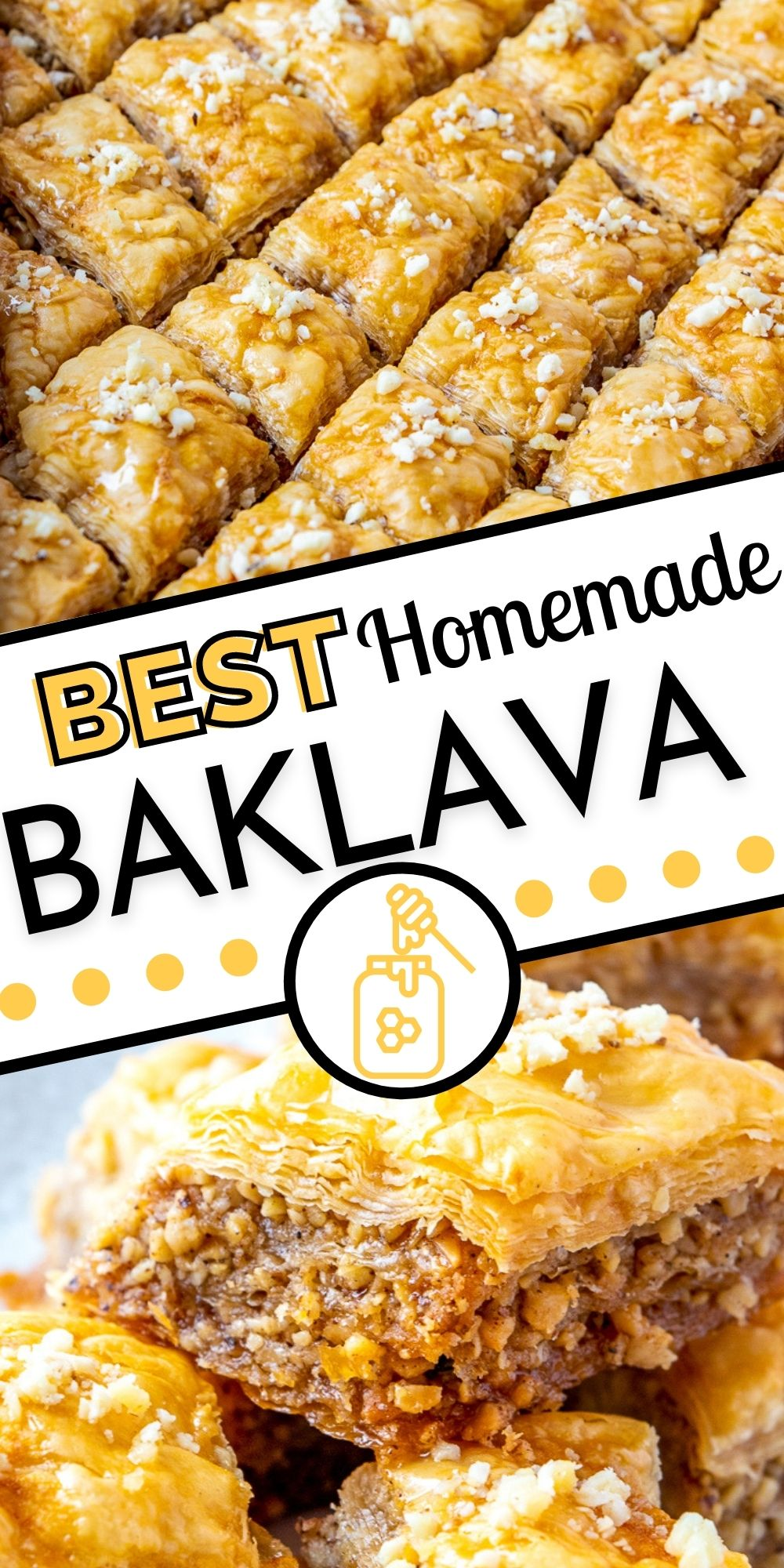 This best Baklava recipe takes time, but it is SO worth it! It is perfect for family functions, parties, holidays, or gifting! via @foodfolksandfun