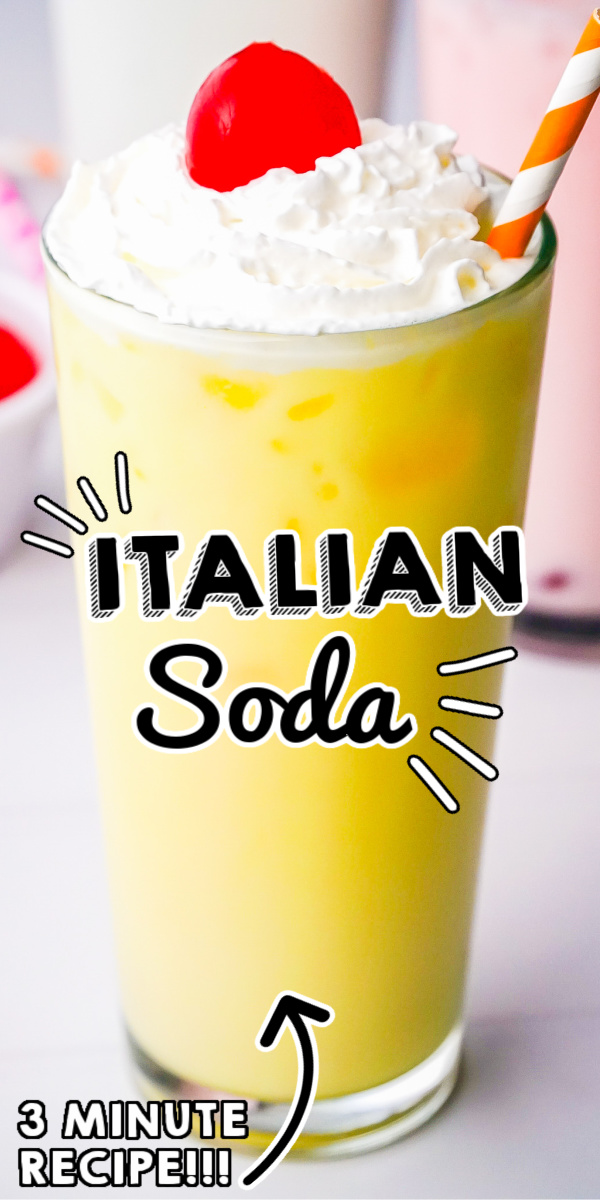 Italian Sodas are fun and easy to customize. Let me show you how to make Italian soda at home with just 3 ingredients: sweet syrups, half-and-half, and club soda. via @foodfolksandfun