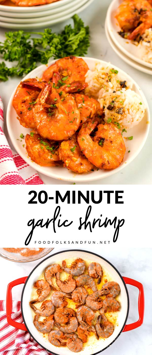This copycat Hawaiian Food Truck Garlic Shrimp recipe is so succulent! This recipe costs $9.19 to make which is just $4.60 per serving! via @foodfolksandfun