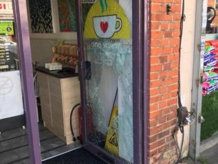 Break-In At One Vision Cafe
