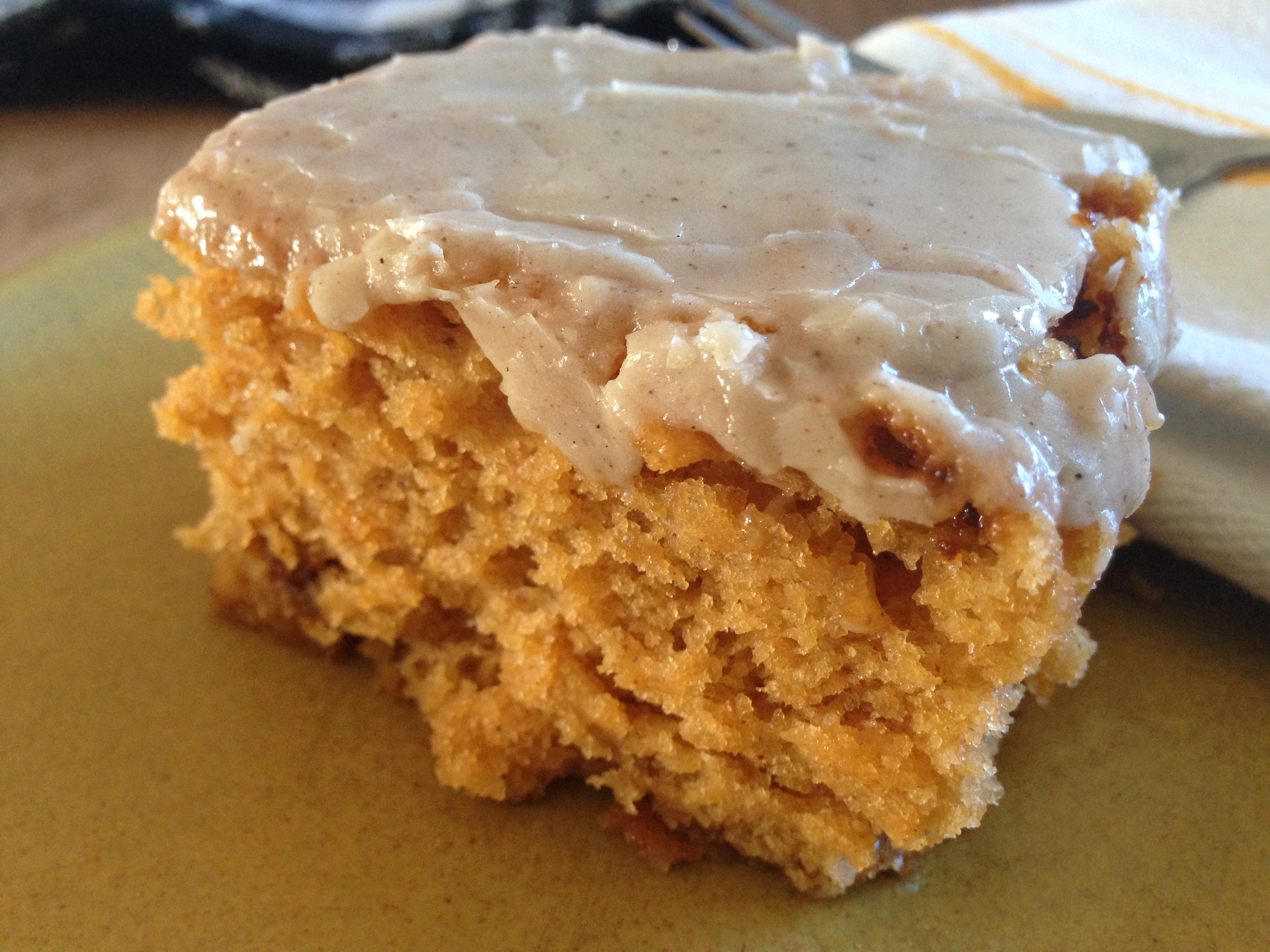 Homemade Pumpkin Spice Cake ((from a mix — a homemade mix))
