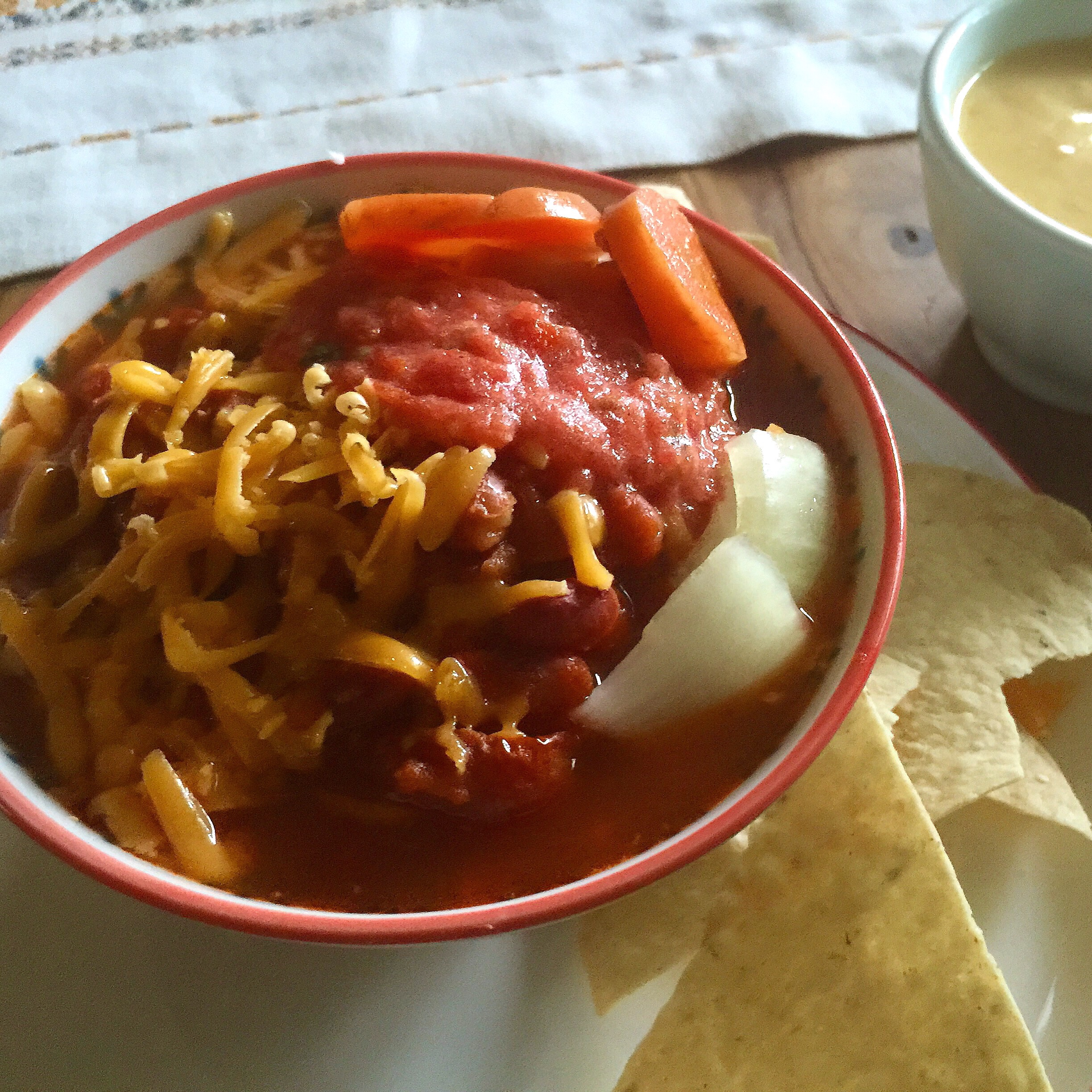 Mexican Jumping Beans – ((Taco Seasoned No-Peek Bean Soup))