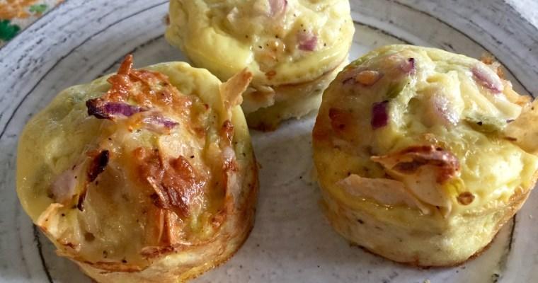 Huevos Rancheros Verdes Breakfast Cups ((Breakfast will never be the same!!))