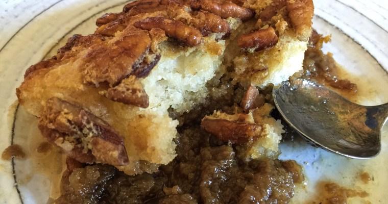 Maple & Buttered Pecan Pie Cobbler