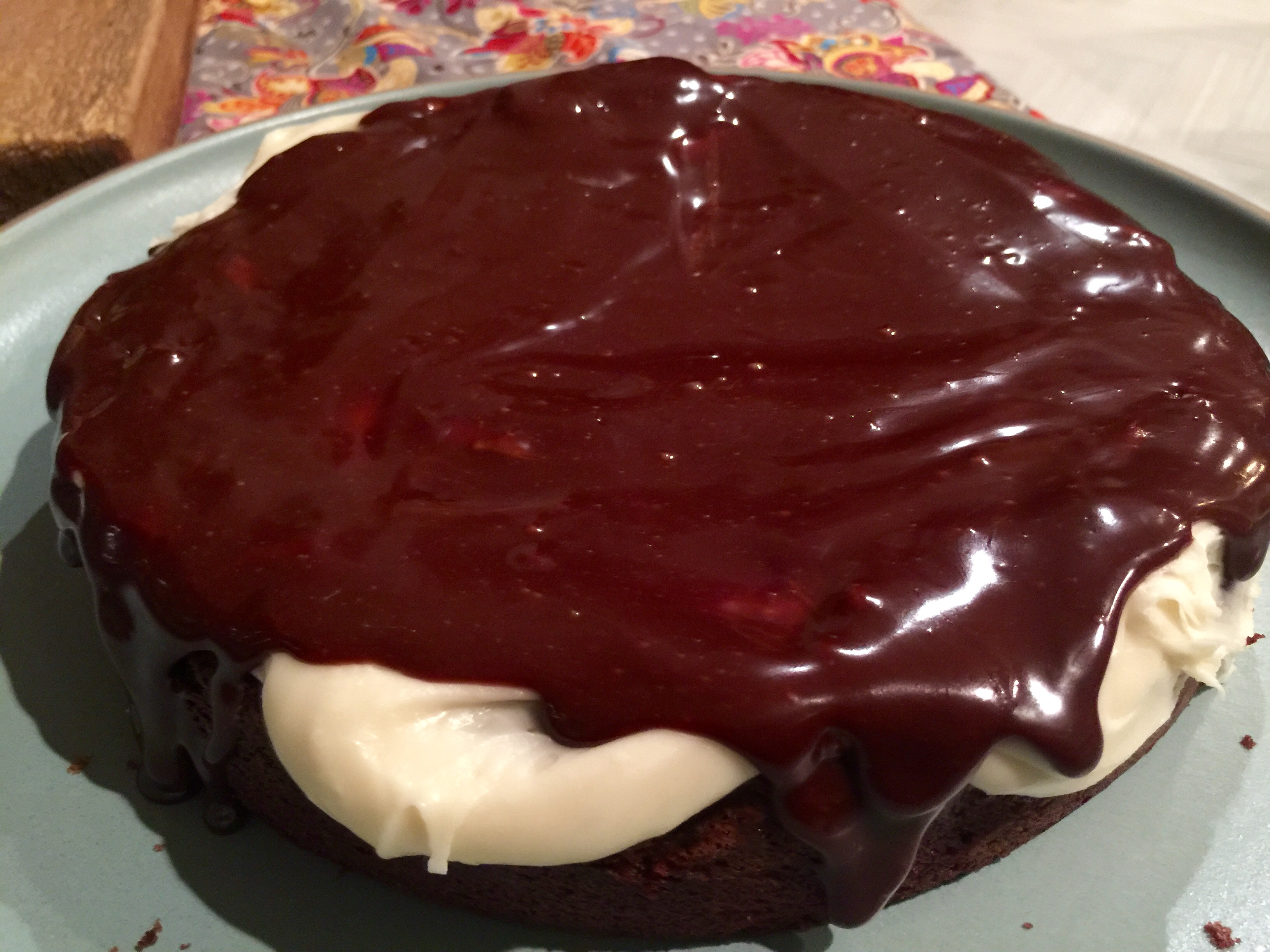 """Simple 2-Ingredient Belgian Chocolate Ganache ((Part 4 of the """"BUSY Mom Cooks"""" recipe series))"""