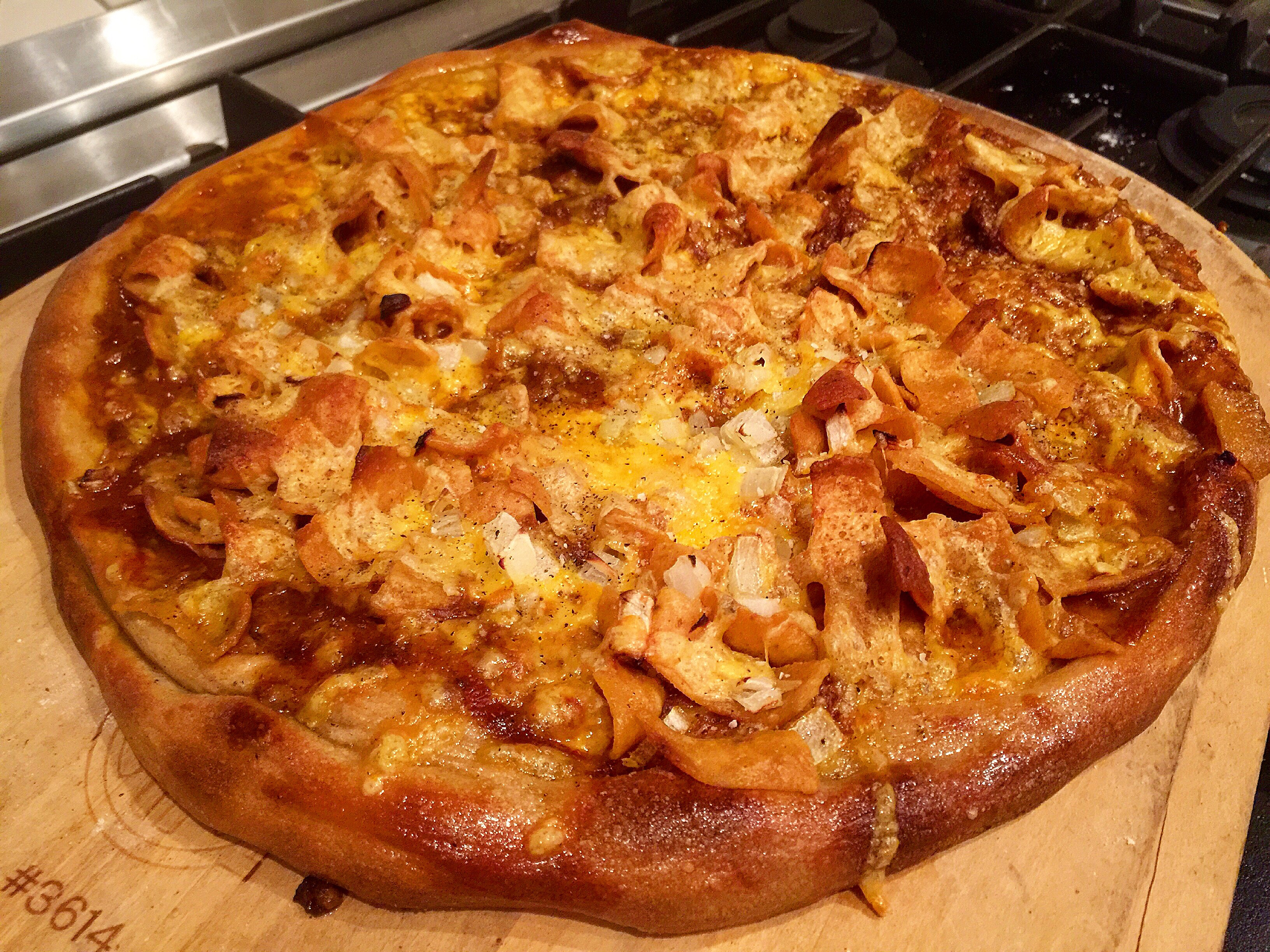 Frito Chili Pizza Pie