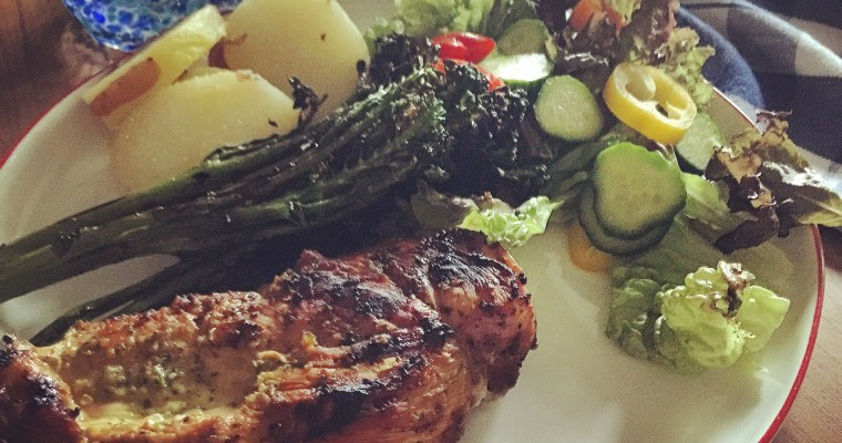 Jalapeño Lime Grilled Chicken ((my Mother's Day Favorite!))
