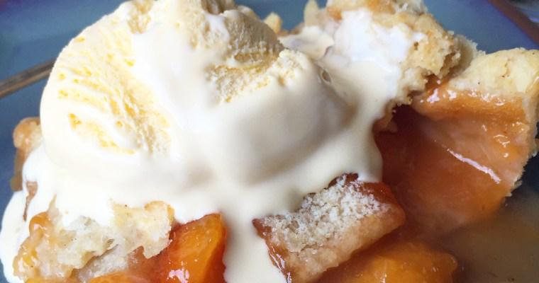 Summer Peach Slab Pie ((a new FFAY recipe for Sinkology!))