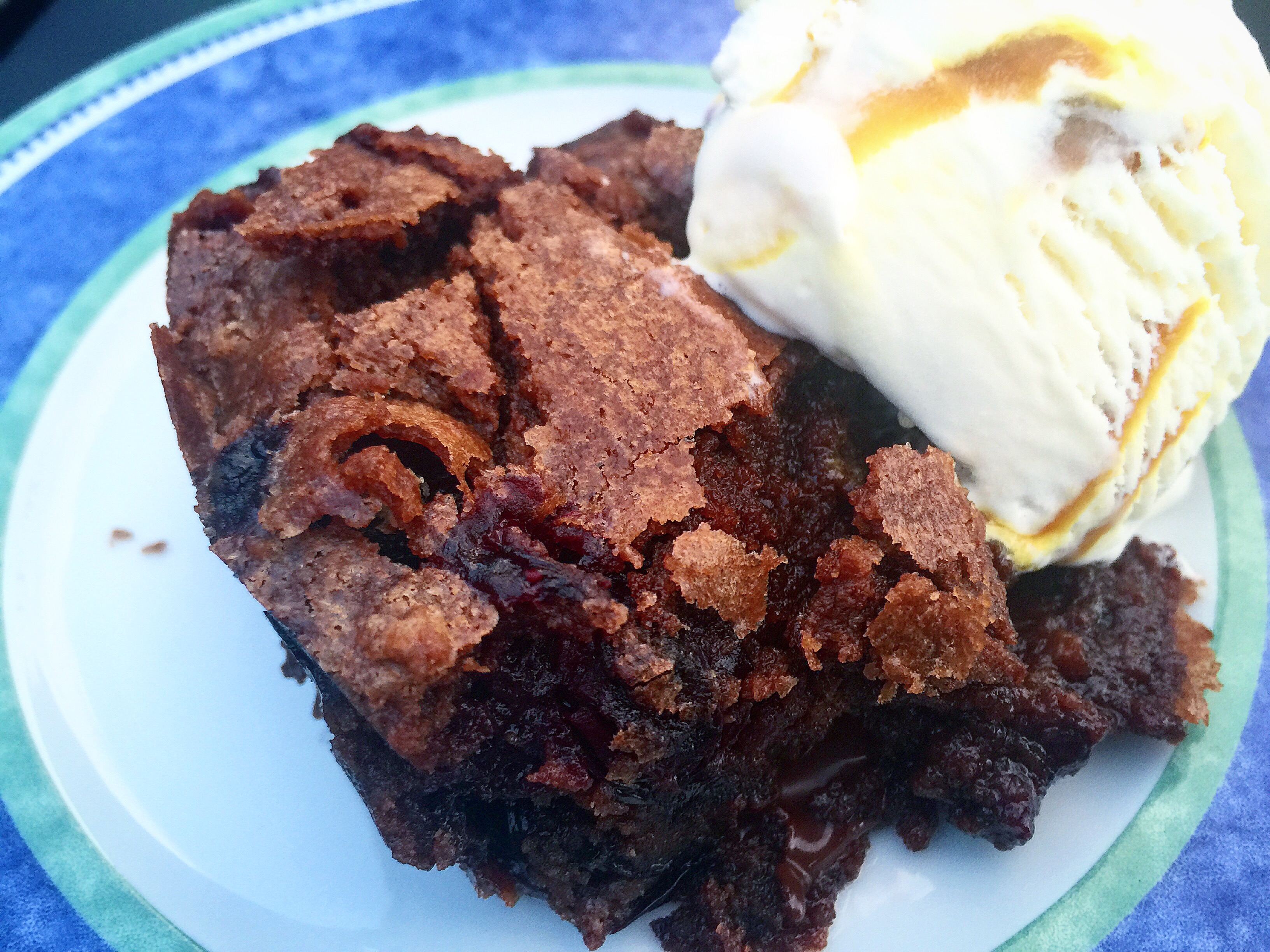 Pacific Northwest Blueberry Brownies