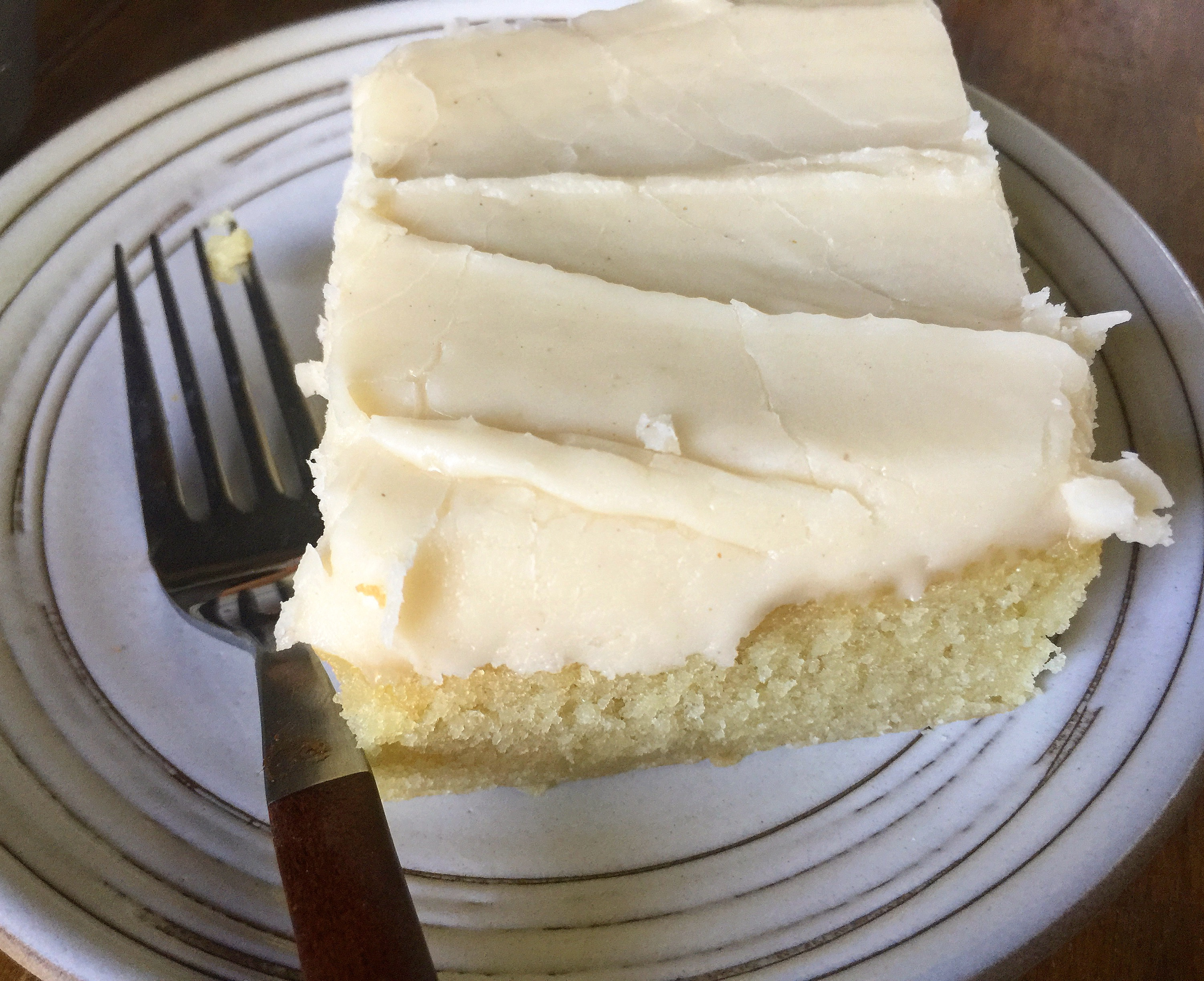 Brown Butter Sheet Cake