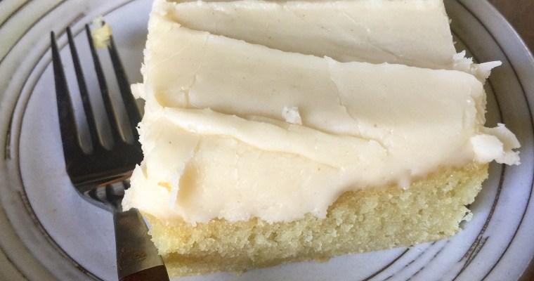 Brown Butter Sheet Cake