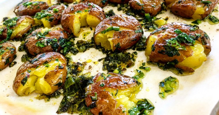 Smashed Irish Potatoes