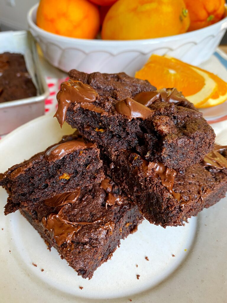 broken brownie