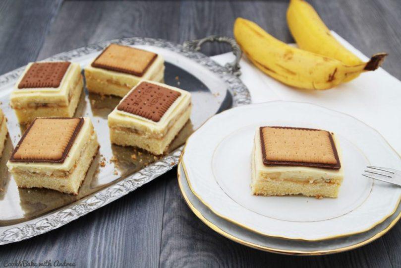 C&B with Andrea - Schoko-Bananen-Schnitten - Foodforfamily - Blechkuchen2