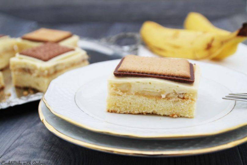 C&B with Andrea - Schoko-Bananen-Schnitten - Foodforfamily - Blechkuchen4