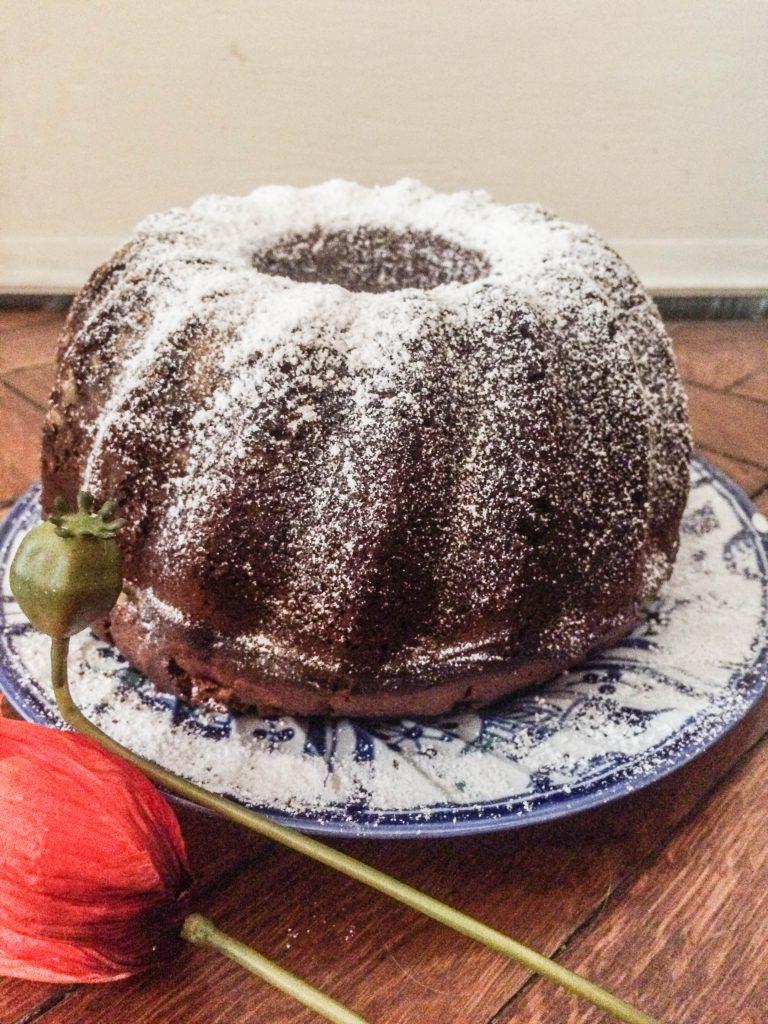 guglhupf-cheesecake-schoko