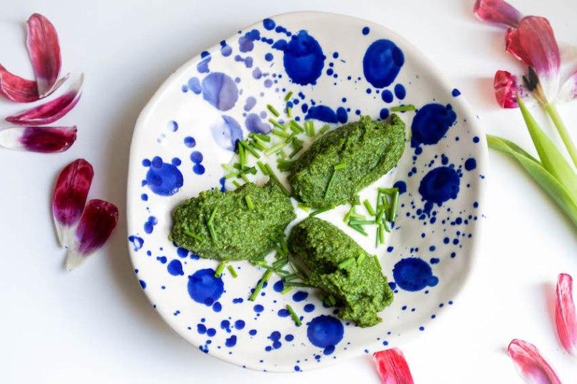 Spinat-Grieß-Knödel