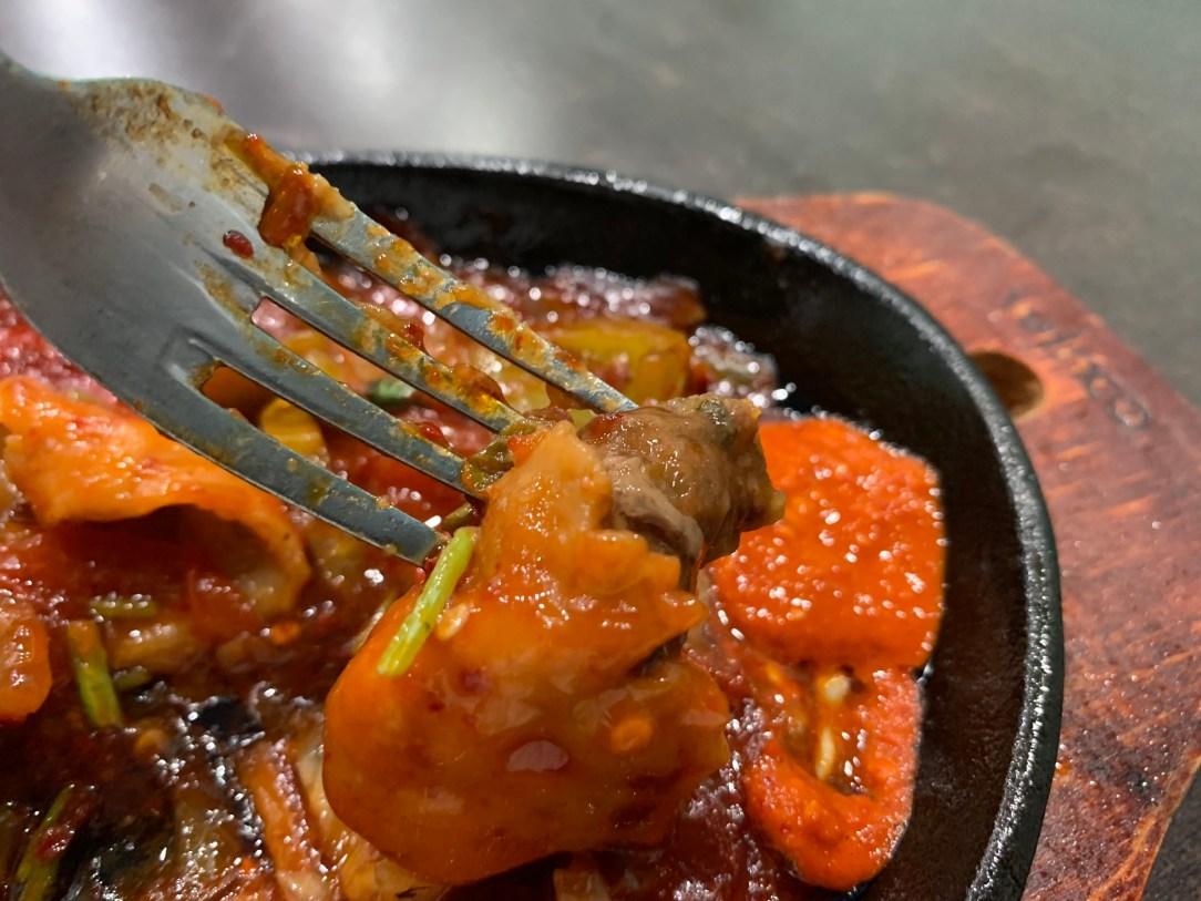 fork closeup