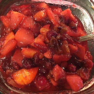Fancy Cranberry Compote – Fruitful Sauce of our Fathers